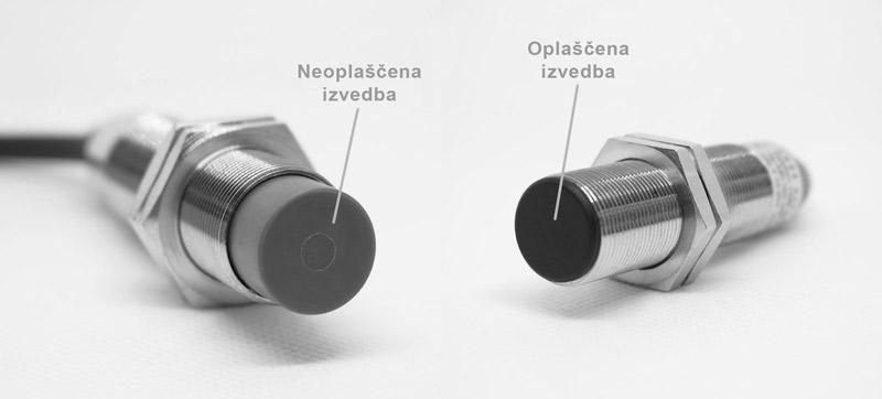 Induktivni senzor Oplaščen in Neoplaščen